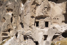 Cave dwellings Stock Photos