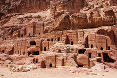 Cave dwellings, Jordan Royalty Free Stock Images