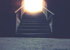 Cave en haut Photographie stock libre de droits