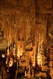 Cave. Famous cave Cuevas del Drach (Dragon cave) on spanish island Mallorca Stock Photography