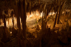 Cave. Famous cave Cuevas del Drach (Dragon cave) on spanish island Mallorca Stock Images