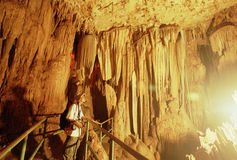 Cave Gong Pacitan Indonesia Stock Photo