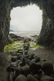 Cave in Heceta Head Royalty Free Stock Photo