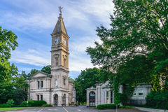 Cave Hill Cemetery Louisville Kentucky - Main Entrance. Louisville, Kentucky, USA - JULY 10, 2016: Established in 1848 Cave Hill Cemetery is the final resting royalty free stock photography