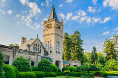 Cave Hill Cemetery Louisville Kentucky - Office. Louisville, Kentucky, USA - June 12, 2016: Established in 1848 Cave Hill Cemetery is the final resting place of stock photo