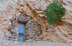 Cave or home Royalty Free Stock Photo