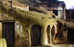 Cave house Royalty Free Stock Photo