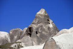 Cave house in Cappadocia. Royalty Free Stock Image