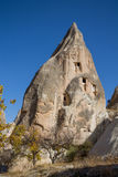 Cave house fortress in Cappadocia Stock Images