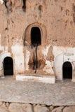 Cave house in matmata,Tunisia in the sahara desert Royalty Free Stock Image
