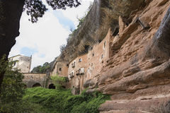 Cave house in Mura Stock Images