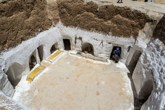Cave house Tunisia. Tunisia Desert Cave house Cave house Stock Image