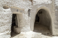 Cave house Tunisia Stock Image