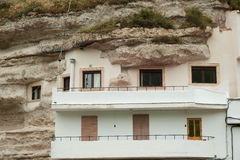Cave houses Royalty Free Stock Photos