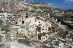 Cave houses Royalty Free Stock Photography