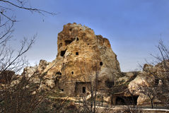 Cave houses Royalty Free Stock Photo