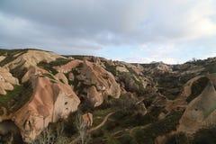 Cave houses in Cappadocia Royalty Free Stock Photos