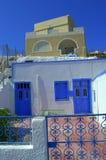 Cave houses,Greece Stock Photos