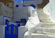 Cave houses,Greece Royalty Free Stock Photography