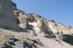Cave houses in Imerovigli. Stock Photo