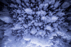 Cave Ice Formations royalty free stock image