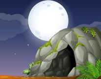 Cave royalty free illustration