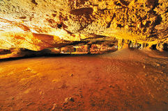 Cave inside a cavern Royalty Free Stock Photos