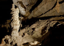 Cave interior royalty free stock photography