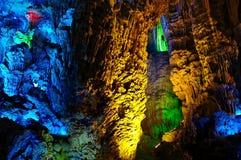 Cave interior Stock Photo