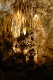 Cave interior Royalty Free Stock Images