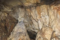 Cave interior Stock Photography