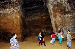 The cave of La Batida Stock Image