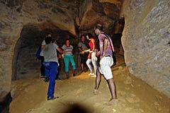 The cave of La Batida 12 Stock Image