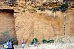 The cave of La Batida Royalty Free Stock Image