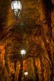 Cave Lanterns stock photos