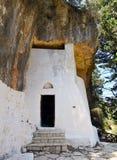 Cave little chapel Stock Photos