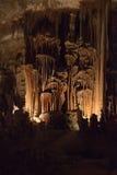 The cave on Mallorca island. Spain Stock Photos