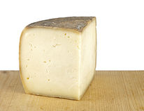 Cave matured pecorino sheep cheese Stock Image
