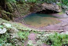 Cave a mica em montanhas de Apuseni, romania de Coiba Fotografia de Stock Royalty Free