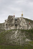 Cave Monastery in Kostomarovo, Voronezh Region, Russia.  Royalty Free Stock Images