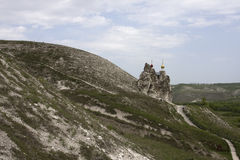 Cave Monastery in Kostomarovo, Voronezh Region, Russia.  Stock Photography