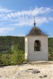 Cave monastery in Moldova, Orheiul Vechi Royalty Free Stock Photos