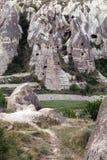 Cave monastery Stock Photography