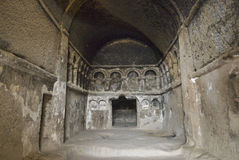 Cave Monastery Selime in Cappadocia, Royalty Free Stock Image