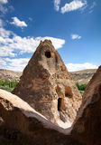 Cave monastery Selime in Cappadocia Royalty Free Stock Images