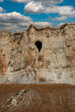 Cave in the old rock Royalty Free Stock Photography