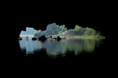 Cave Opening, Tam Coc, Ninh Binh Stock Photo