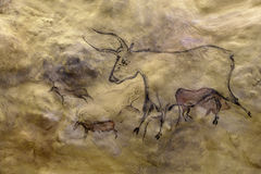 Cave painting Royalty Free Stock Photo