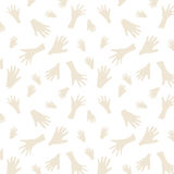 Cave Painting Seamless Pattern. Hand paintings background. Cave Painting Seamless Pattern. Hand paintings background Vector Illustration