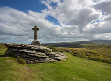 Cave Penney Cross Dartmoor. Stock Photography